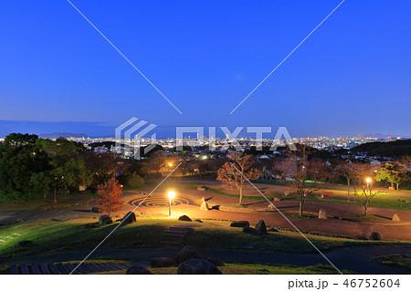西油山中央公園(シンデレラ公園)の夜景 福岡県福岡市早良区西油山 46752604
