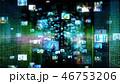 デジタル テクノロジー オンラインのイラスト 46753206