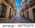 Old streets of Ronda 46755876
