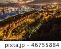 Night view of Malaga Spain 46755884