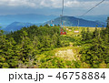 Ski lift in mountains in summer 46758884