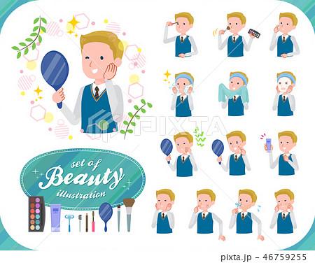 flat type school boy White_beauty 46759255