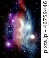 バックグラウンド 宇宙 ぎんがのイラスト 46759446