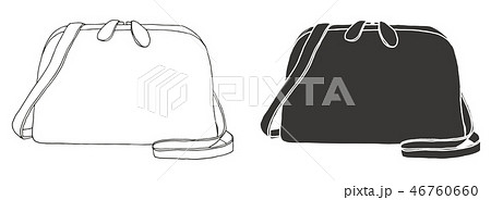Set of bags. Bags isolated on white background. 46760660