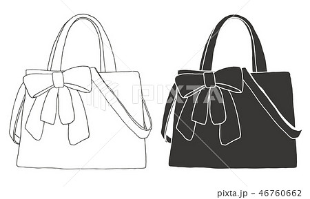 Set of bags. Bags isolated on white background. 46760662