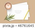 紙 ペーパー 紙類のイラスト 46761645