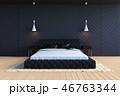 ベッド 寝台 寝床のイラスト 46763344