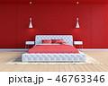 ベッド 寝台 寝床のイラスト 46763346