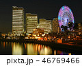 みなとみらい 横浜 観覧車の写真 46769466