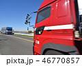 走行 自動車 道路の写真 46770857
