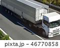 トラック 走行 自動車の写真 46770858