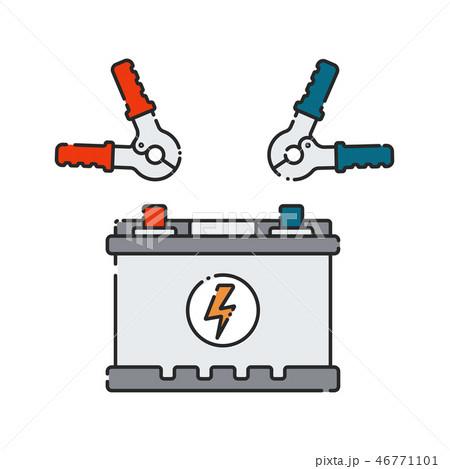 Car battery. 46771101