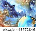 アブストラクト 抽象 抽象的のイラスト 46772846