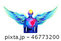 天使 エナジー エネルギーのイラスト 46773200
