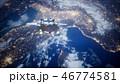 惑星 シャトル スペースのイラスト 46774581
