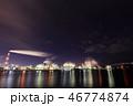 四日市 夜景 工場の写真 46774874