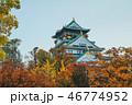 城 城郭 お城の写真 46774952