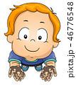 少年 男の子 汚れたのイラスト 46776548