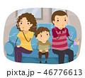 子供 ファミリー 家庭のイラスト 46776613