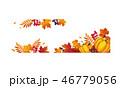 あき 秋 サンクスギビングデーのイラスト 46779056