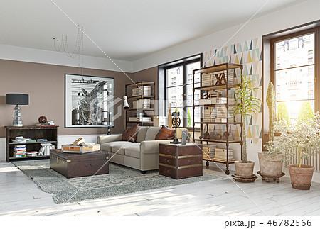 modern living room 46782566