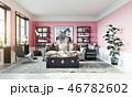 空間 部屋 インテリアのイラスト 46782602