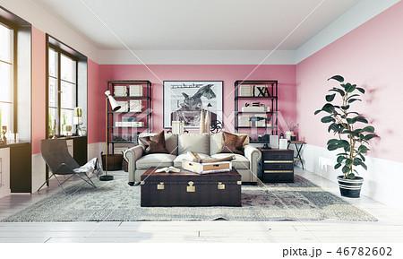 modern living room i 46782602