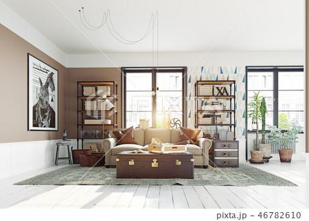 modern living room 46782610
