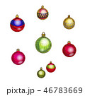Set of Christmas and New Year decorations isolated 46783669