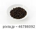 ブラックペッパー ペッパー 黒胡椒の写真 46786092