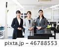 ビジネス 女性 オフィス 46788553
