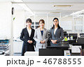 ビジネス 女性 オフィス 46788555