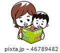 絵本 読み聞かせ 息子のイラスト 46789482