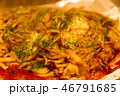 料理 食事 麺類の写真 46791685