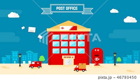 郵便局 ポスト メール 46793450