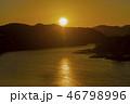 韓国 川 河の写真 46798996