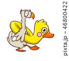 鳥 マンガ 漫画のイラスト 46800422