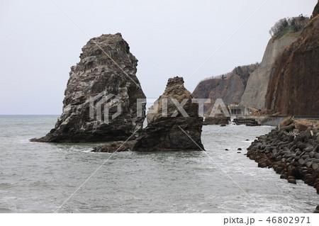 日高耶馬渓・鵜の鳥岩 46802971