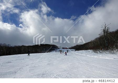安比高原スキー場 セカンド第1コース上部(2) 46814412