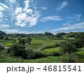 空 米 田畑の写真 46815541