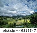 空 米 田畑の写真 46815547