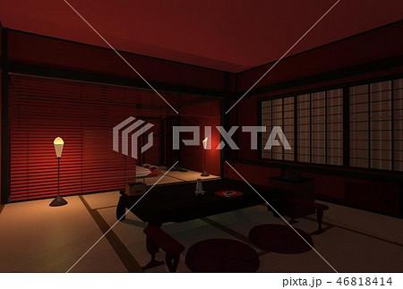 赤い和室 46818414