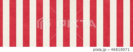 和紙の風合いを感じるイラスト 紅白幕 46819071
