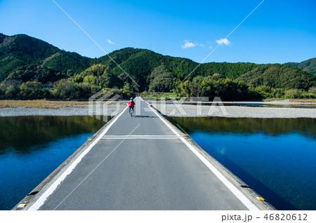 四万十川の沈下橋 46820612