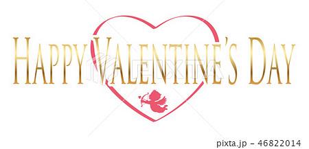 バレンタインデーのロゴ/アイコン 46822014