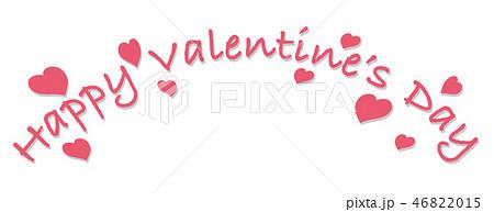 バレンタインデーのロゴ/アイコン 46822015