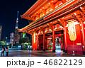 東京スカイツリー 浅草寺 宝蔵門の写真 46822129
