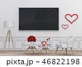 TV テレビ 空間のイラスト 46822198