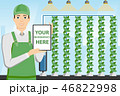 農業 監督 コントロールのイラスト 46822998