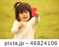 女の子 女児 ホイッスルの写真 46824106